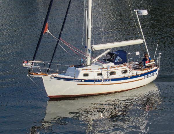 Pacific Seacraft (Crealock)  Dana 24 CUTTER- $100k UPGRADES BUTTERFLY