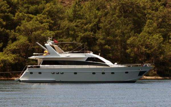 Custom Line 21 M TUZLA Motor Yacht 21 meter Tuzla motoryacht