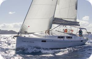 Hanse 385 Sailing - Taste of Liberty