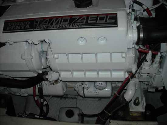 Volvo TAMP 74P / 480hp Diesel Engine