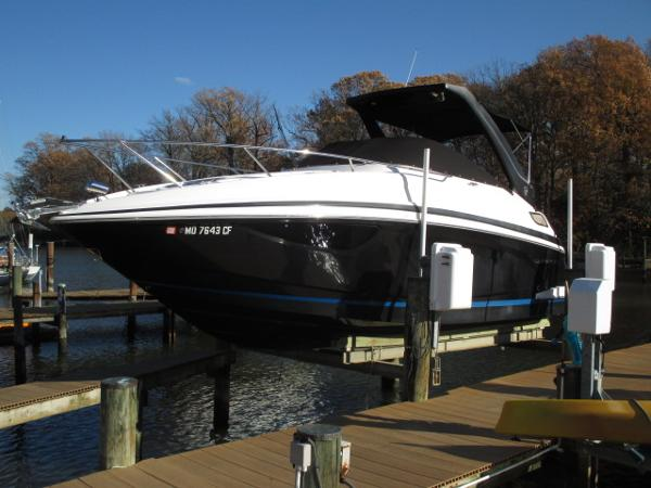 Regal 28 Express Port Bow
