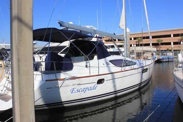 Jeanneau Sun Odyssey 50 DS Starboard