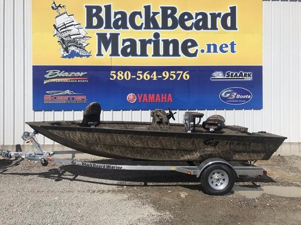 G3 Boats Bay 18 DLX Shadow Grass Camo