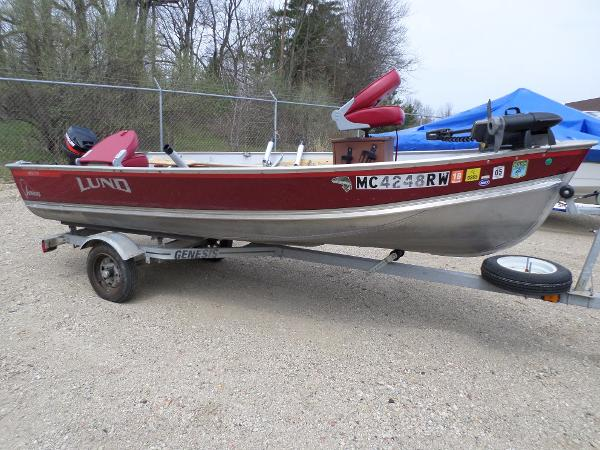 Used lund wc 14 adventure boats for sale for Used lund fishing boats for sale