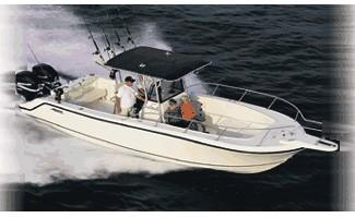 Mako 282 Center Console 1995 Mako 282 - Cruising