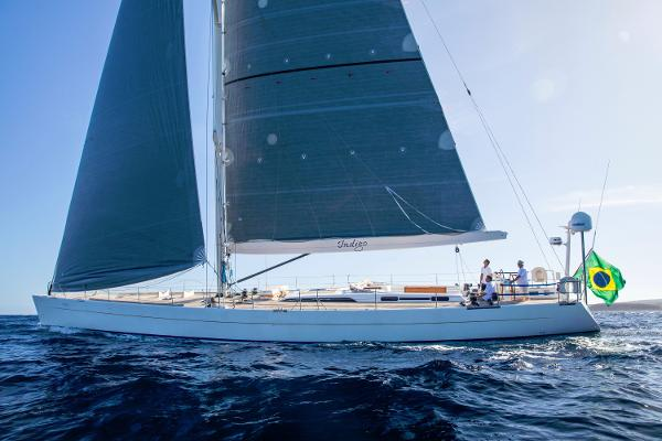 Soto 83' custom sloop Sail profile