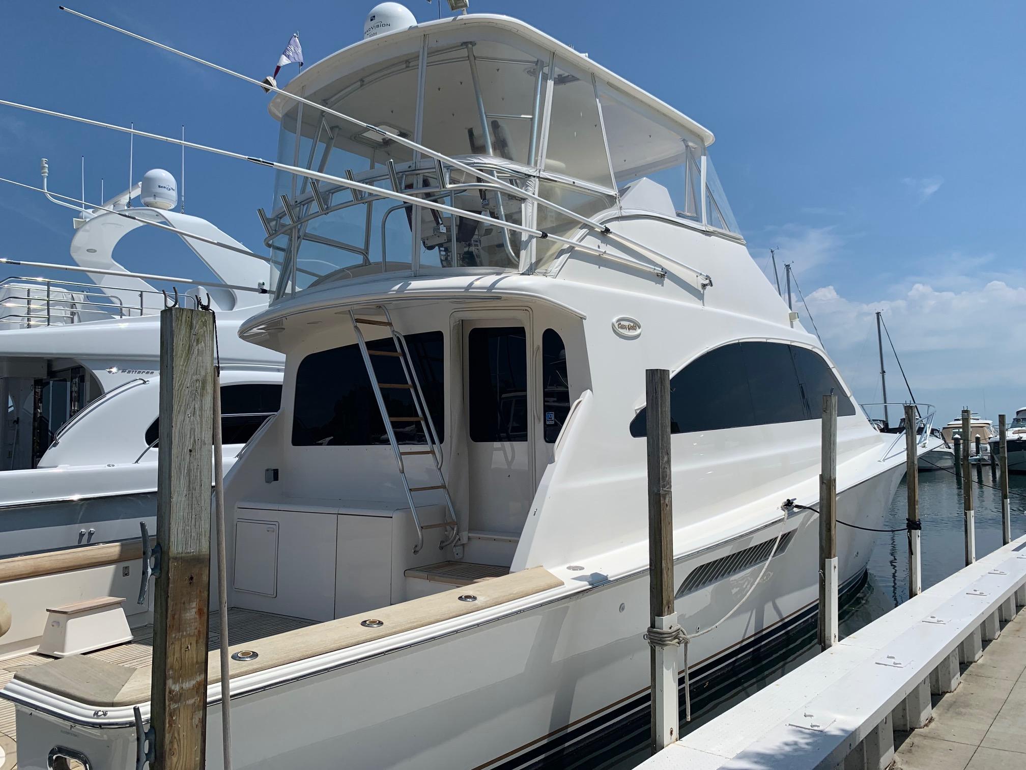 Ocean Yachts 57 Super Sport Starboard Rear