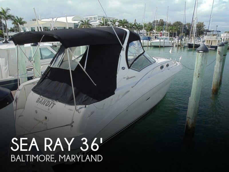 Sea Ray 320 Sundancer 2007 Sea Ray 320 Sundancer for sale in Baltimore, MD