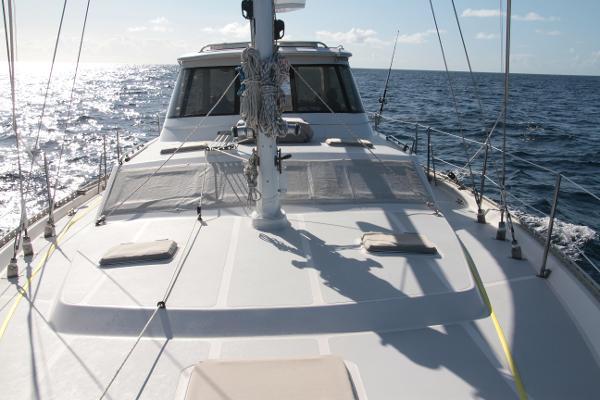 Endeavour Gulfstar Repowered and Retrofitted Foredeck view