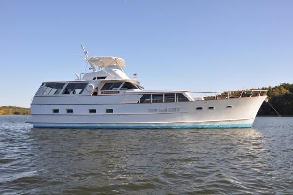 Burger 67 Classic Motor Yacht Profile