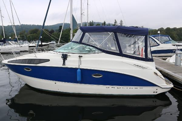 Bayliner 265 Bayliner 265 port side view