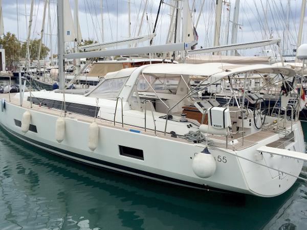 Beneteau Oceanis 55 Beneteau Oceanis 55 on Mallorca