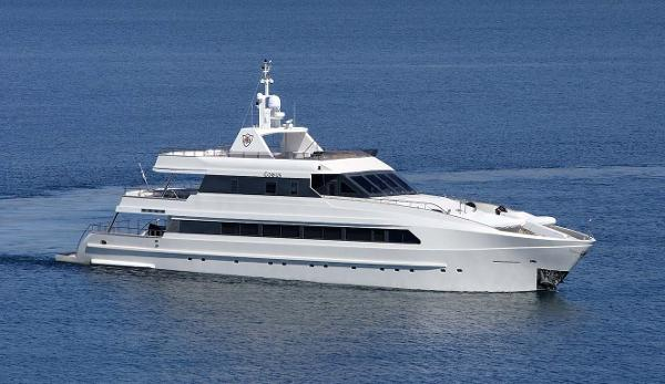 Custom M/Y Luxury FB Yacht Profile