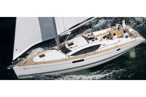 Jeanneau Sun Odyssey 45 DS Manufacturer Provided Image: View From Above