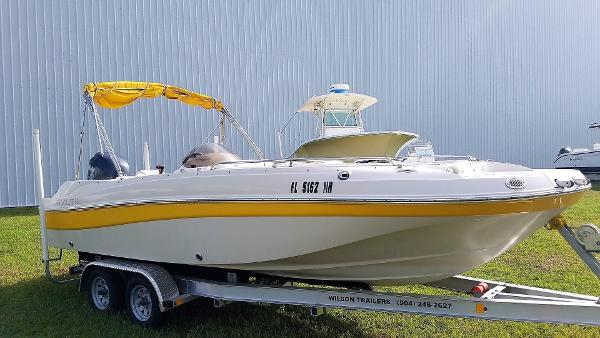 Azure Z210 Deck Boat