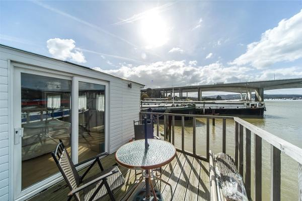 Houseboat Thames Lighter Houseboat