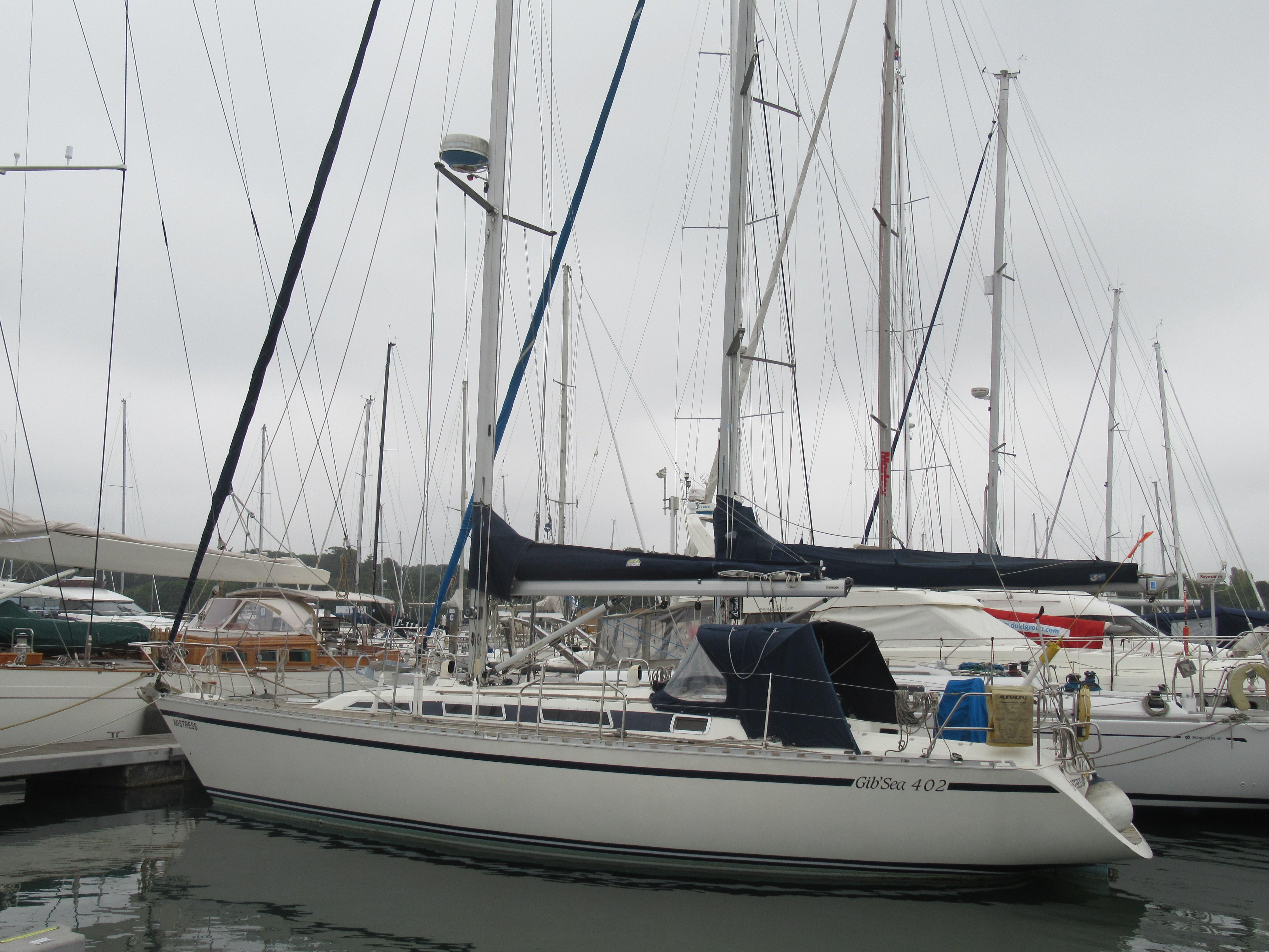 Gib'Sea 402 MASTER FOR SALE - 1988 Gibsea 402 Master