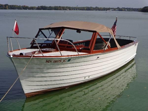 1961 Chris Craft Sea Skiff Utility Minnetonka Minnesota