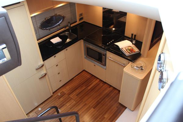 Princess V62 Galley