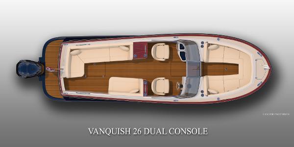 Vanquish 26 Dual Console