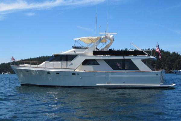 Nordlund 63 Pilothouse