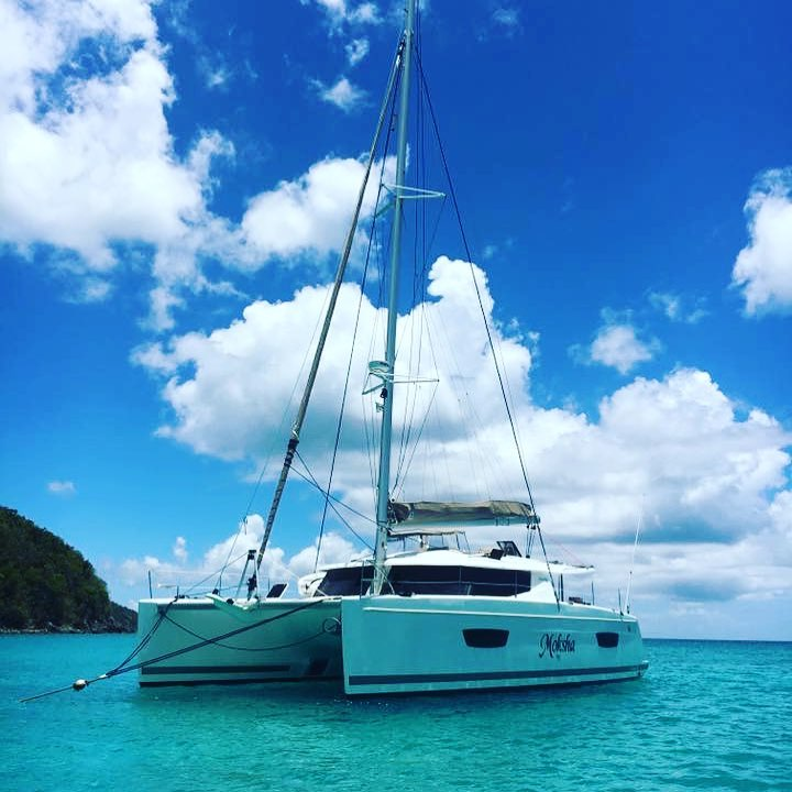 Fountaine Pajot Helia 44 Moksha Anchored.jpg