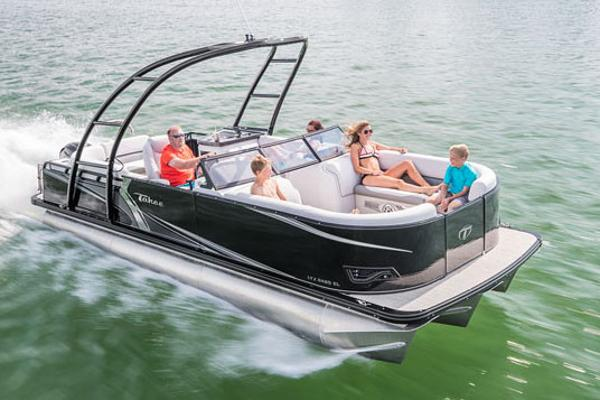Tahoe Pontoon LTZ Windshield - 22' Manufacturer Provided Image