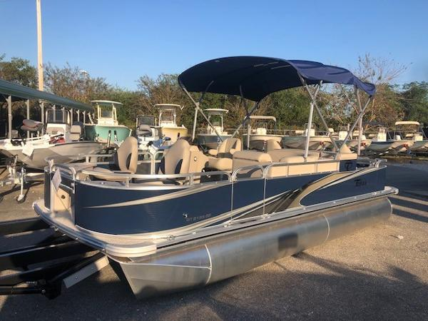 Tahoe Pontoon GT 21 QUAD FISH