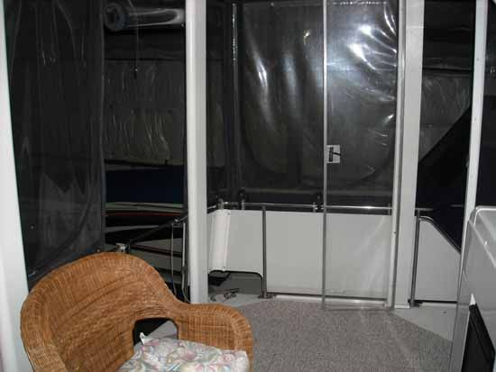 Aft Deck w/ wing Door