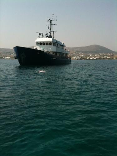 Ex-Minelayer Steel Yacht 32m