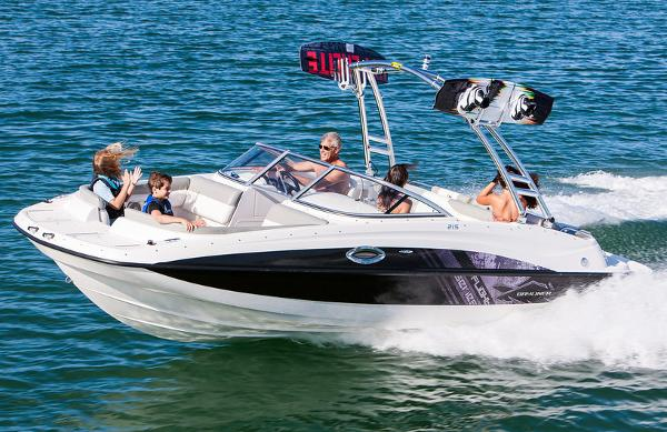 Bayliner 215 Deck Boat Manufacturer Provided Image