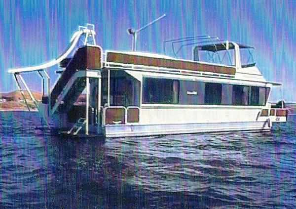 Skipperliner Flybridge Houseboat