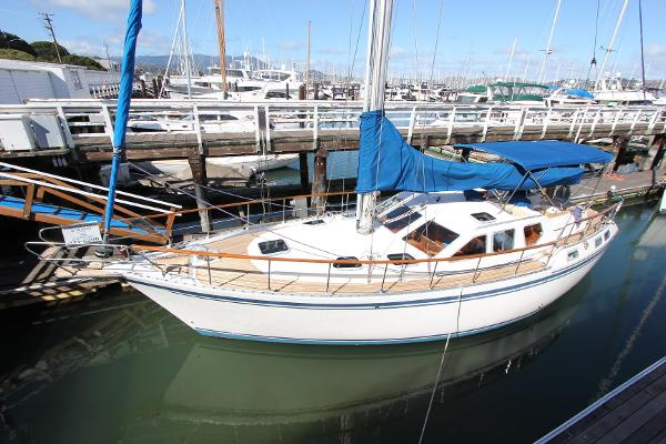 Nauticat 42 pilothouse motor sailer