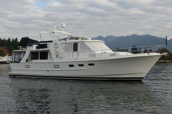 Custom J Simpson Aluminum Pilothouse On the water