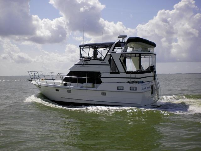 Heritage East Sundeck Motoryacht Last Trade port profile web1.jpg