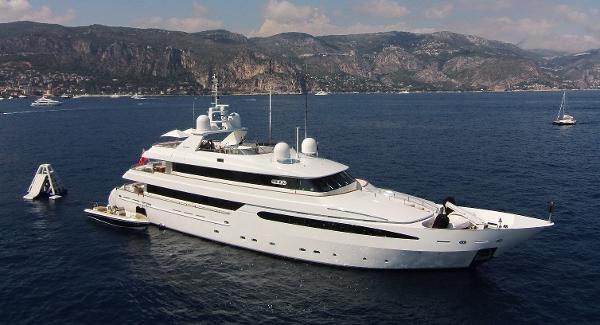 Intermarine Tri-Deck Motor Yacht Exterior BALAJU