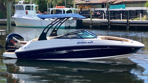 Sea Ray 220 SDX Outboard Profile