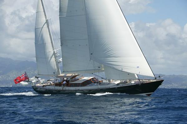 Vitters Cruising Ketch Port Tack