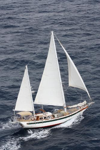 Formosa Cutter Ketch 1974 Formosa 51 Under Sail