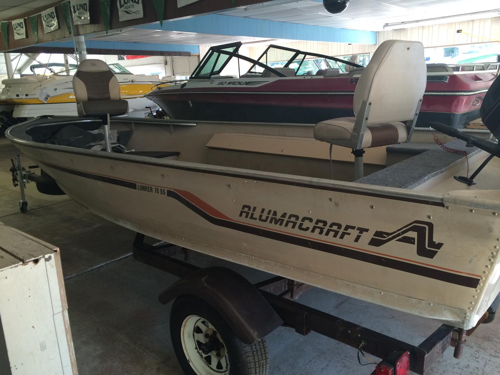 Alumacraft Lunker 16 SS