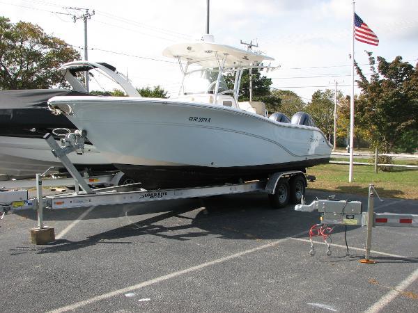 Sea Fox 266 Commander Portside
