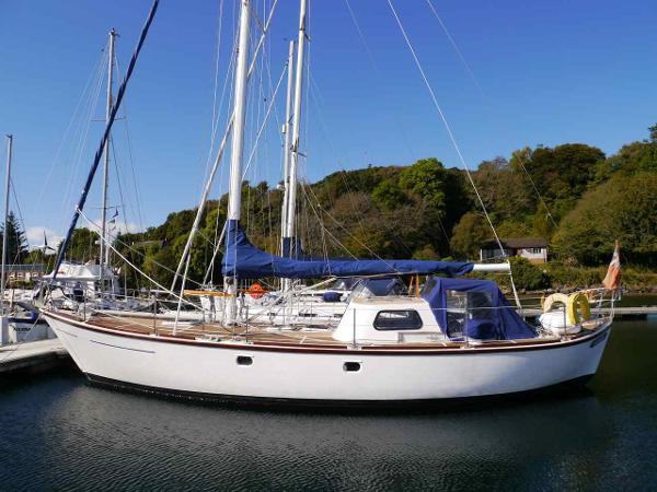 William Garden 40' Double Ended Sloop Main