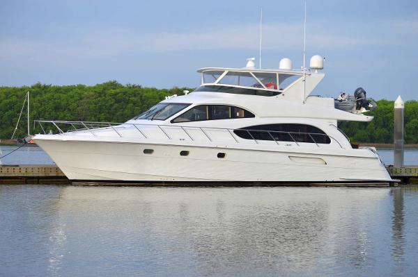 Hatteras 63 Raised Pilothouse Motor Yacht Hatteras 63