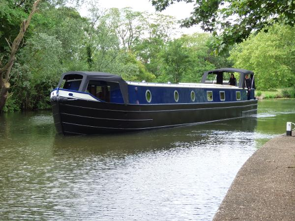 Wide Beam Narrowboat Tingdene Colecraft 66'x10'04""