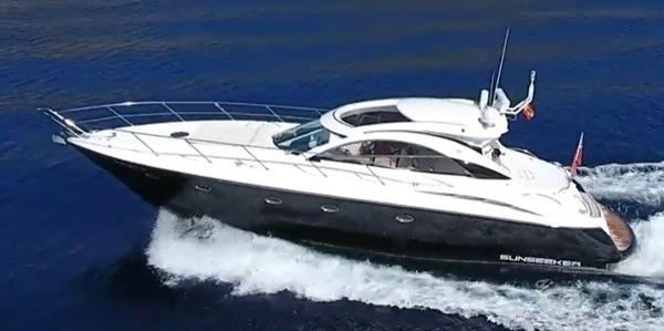 Sunseeker Camargue 50 At sea