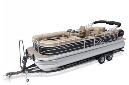 Sun Tracker Signature Party Barge 24 XP3 w/150L 4S