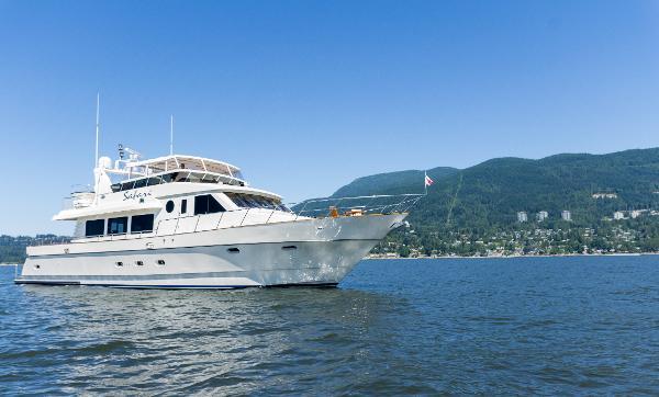 Symbol 80 Pilothouse Motoryacht Starboard Profile