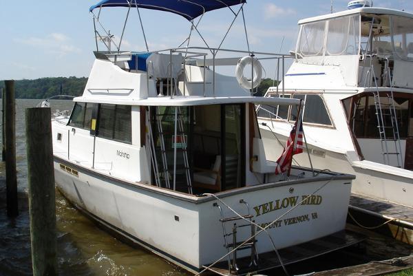 Mainship Classic Trawler