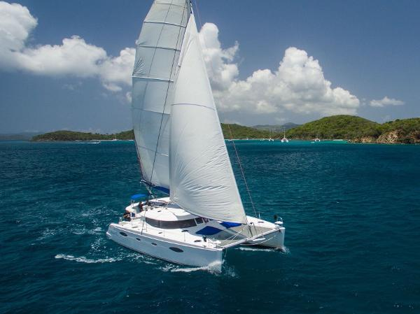 Fountaine Pajot Salina 48 A capable cruising yacht outfitted for charter