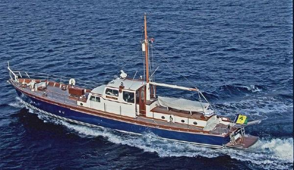 Laurent Giles Gentleman's Motor Yacht 21M Laurent Giles TSDY